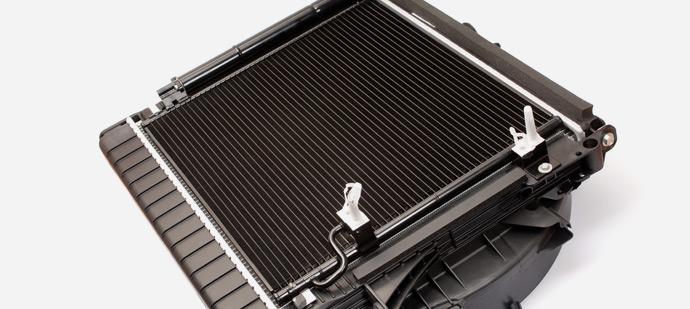 Condenser Radiator Condenser/radiator/fan Modules